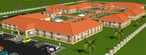 Gombe Hospital Aerial View