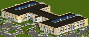 Abeokuta College of Management Sciences, Aerial View