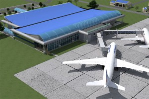Gombe Airport South-East/Back View