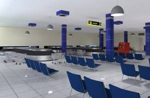 Gombe Airport Luggage Claim Area - Arrival Hall