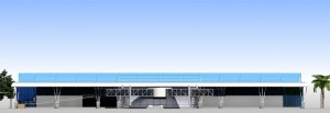 Gombe Airport Back Elevation