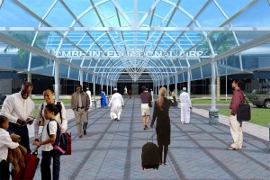 Gombe Airport Entrance Porch/Drop-Off