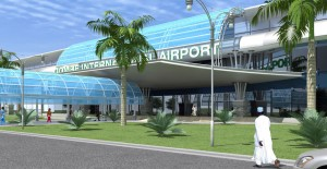Gombe Airport West Side Approach View