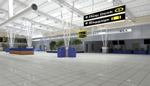 Gombe Airport Entrance Councourse