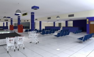 Gombe Airport Arrival Hall