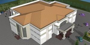 Aerial View [ATBU Bauchi-Lecture Theatre]