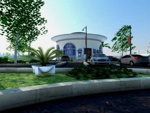 Proposed CBN Governor's Residence View From The Parking Lot
