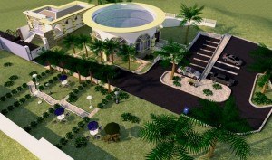 Proposed CBN Governor's Residence [Security Post, Security/Support Staff Quarters,Parking Lot And Recreational Unit]